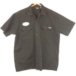 Dickies Work Wear Button Up Shirt Men's XL
